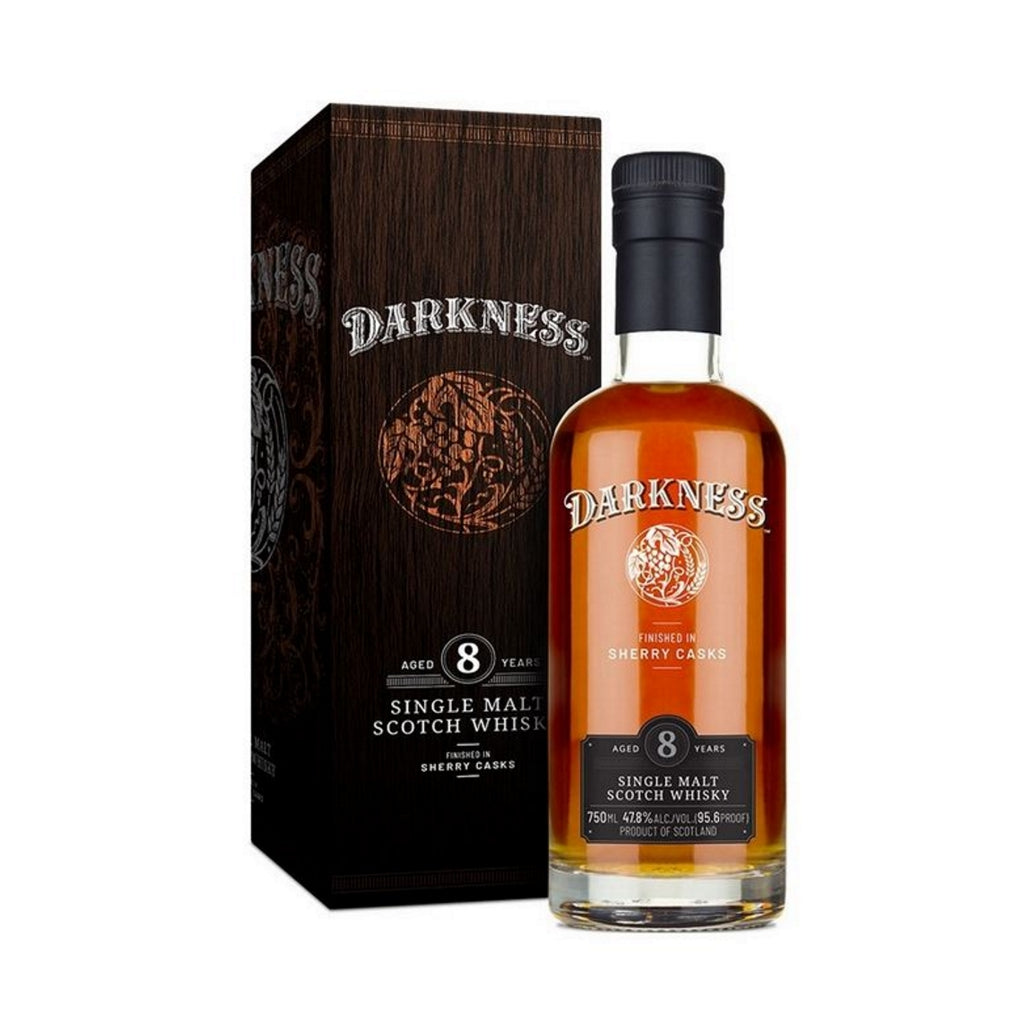 Darkness 8 Year Old Finished in Sherry Cask 700ml