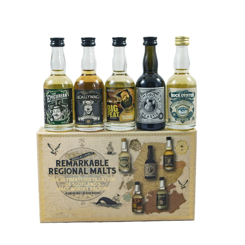 Douglas Laing - Remarkable Regional Malt Miniature Set