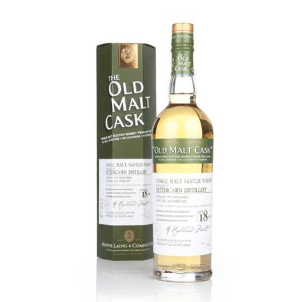 Hunter Laing  Old Malt Cask Fettercairn Distillery 18 Year Old