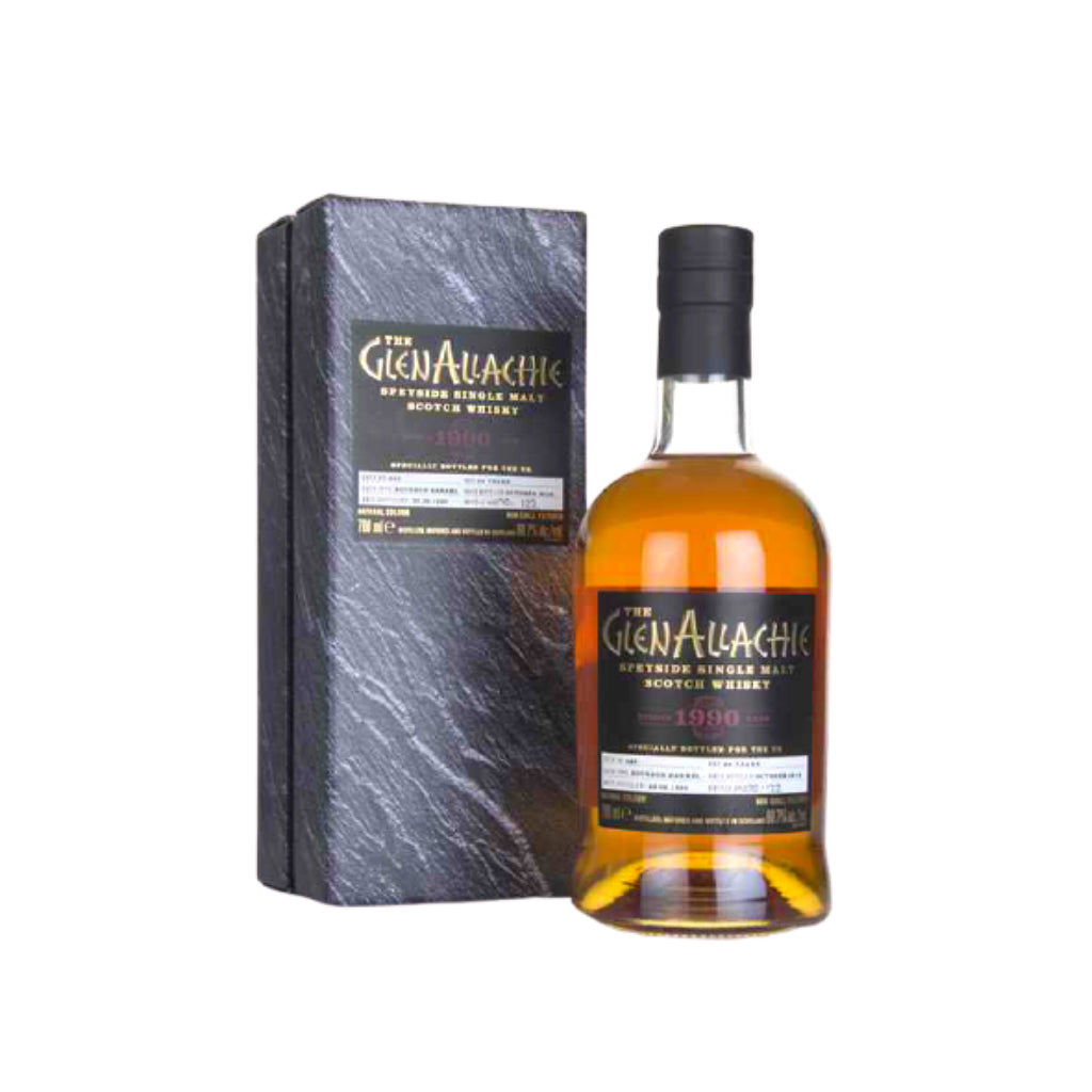 Glenallachie 28 Years Old Single Cask 1470 53.5% 1990