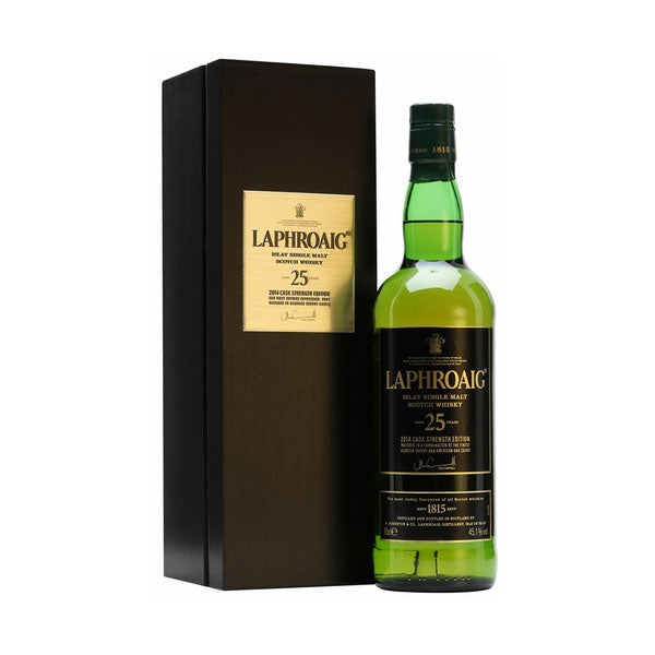Laphroaig 25 Year Old Cask Strength 45.1% -2014 Edition