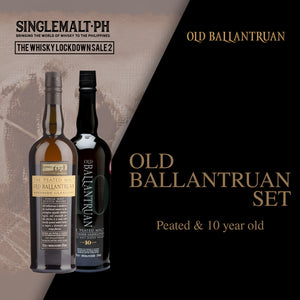 Old Ballantruan Set (10 Year Old, Peated Speyside) 700ml