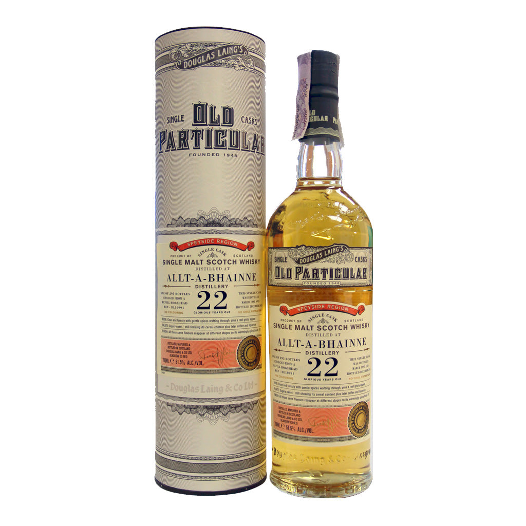 Old Particular - Allt-A-Bhainne 22 Year Old 70cl