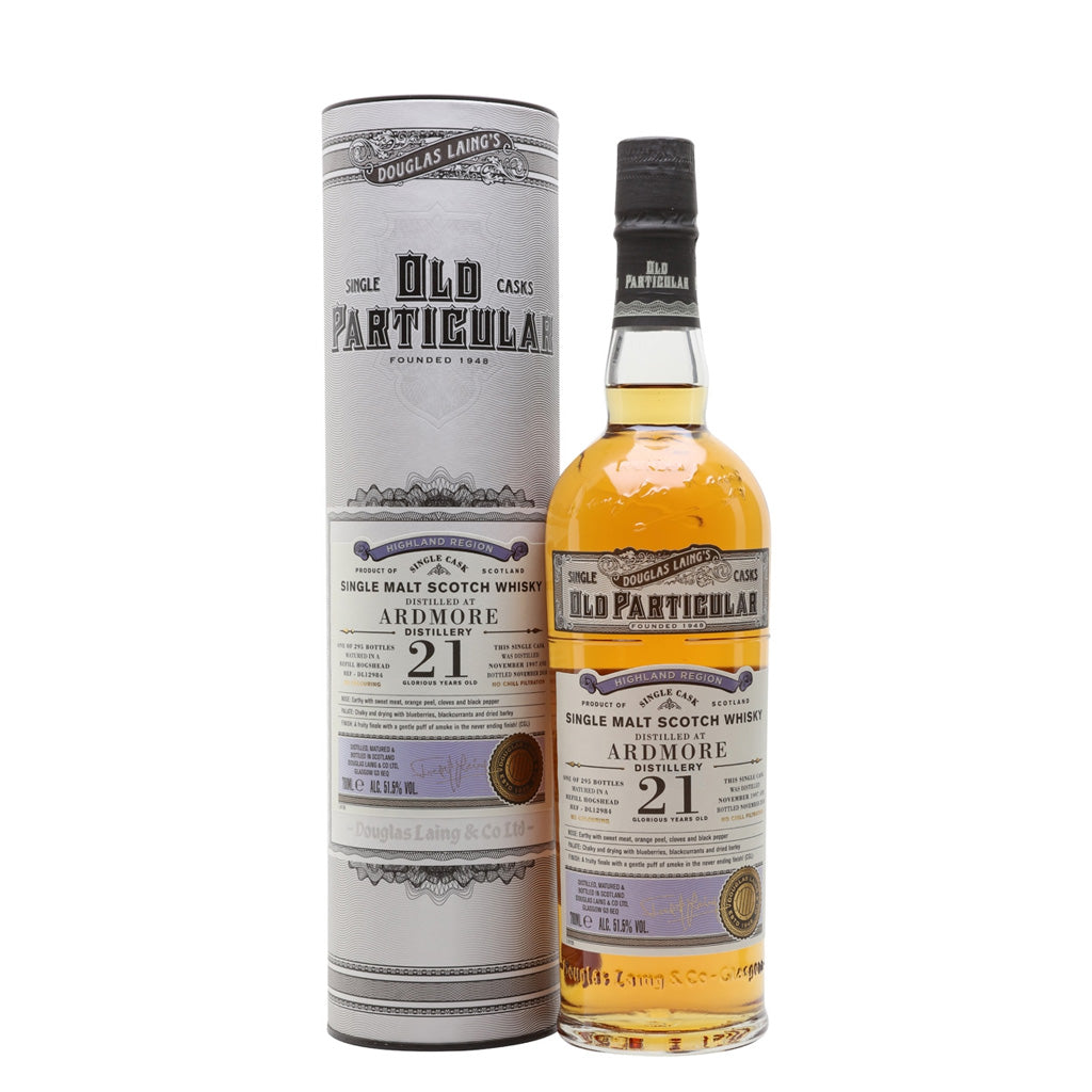 Old Particular - Ardmore 21 Year Old 70cl