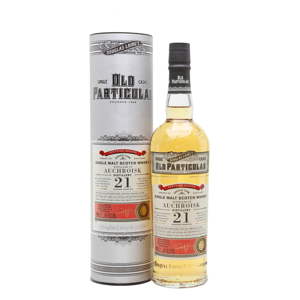 Old Particular - Auchroisk 21 Year Old 70cl