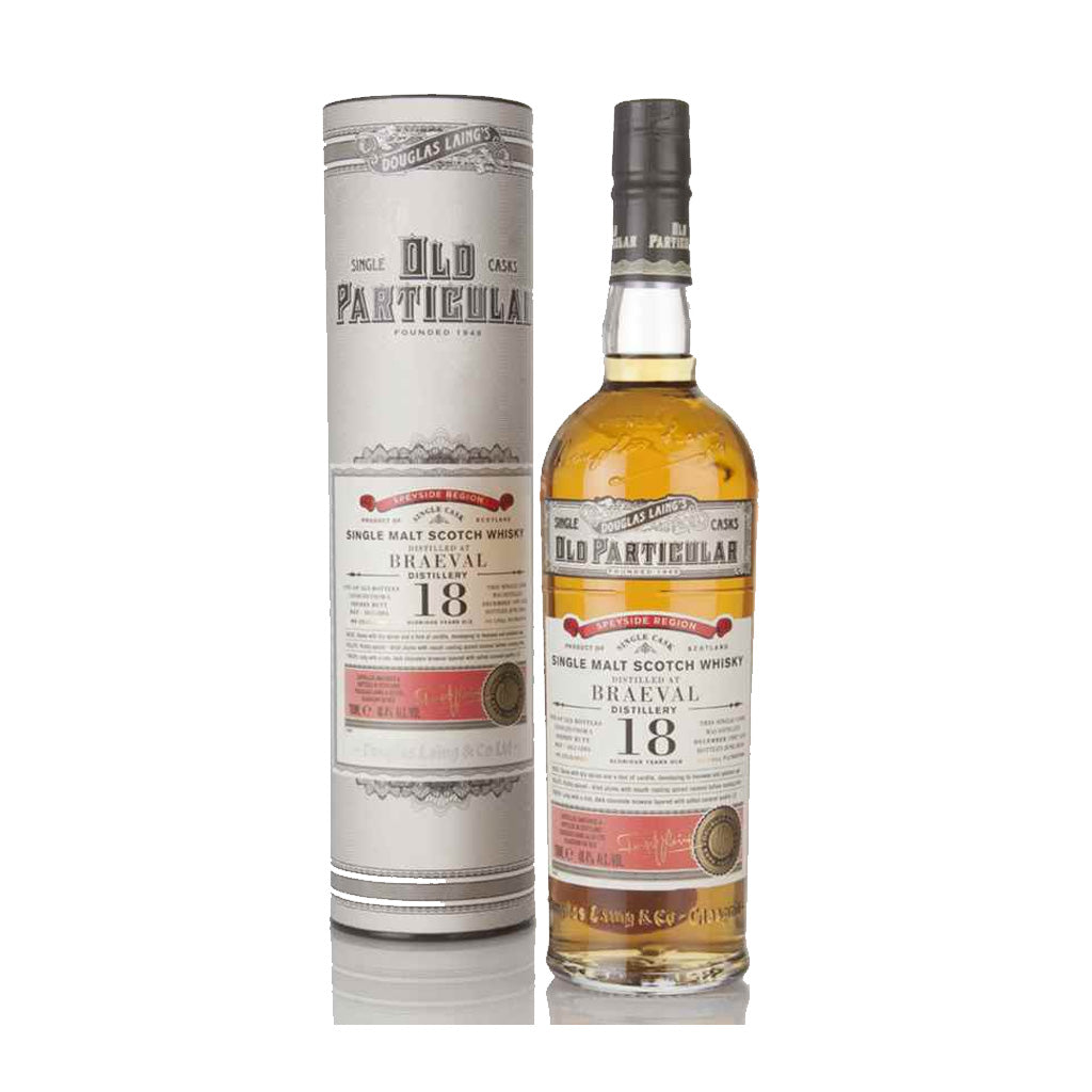 Old Particular - Braeval 18 Year Old (Sherry Butt) 70cl