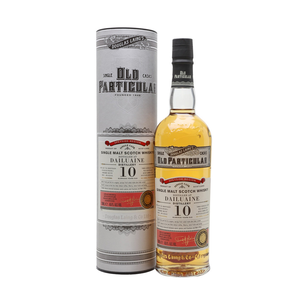 Old Particular - Dailuaine 10 Year Old (Sherry Cask) 70cl