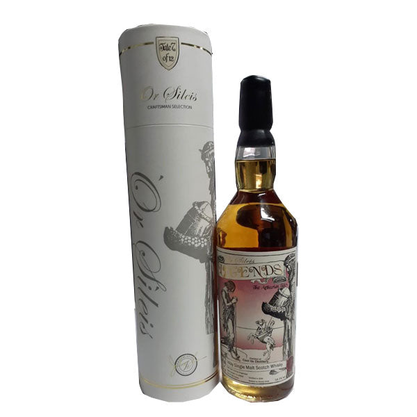 Or Sileis Legend Caol Ila Distillery - (Tale 5 of 12) Cask Type: Oloroso Hogshead (bottle 1 of 292) Distilled in 2010 w/ Signature