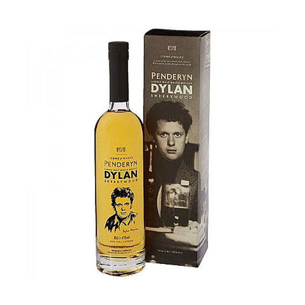 "Penderyn ""Icons of Wales - Dylan Thomas"" Madeira Cask"