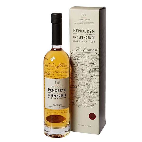 "Penderyn ""Icons of Wales - Independence"" Madeira"