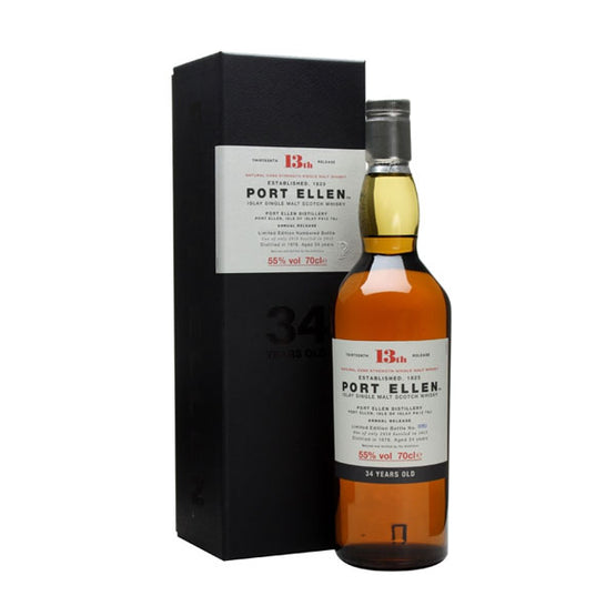 Port Ellen 34 Year Old 13th Edition Distilled 1978 closed distillery