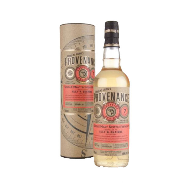 Provenance - Allt-a-Bhainne 7 year old (speyside) 70cl