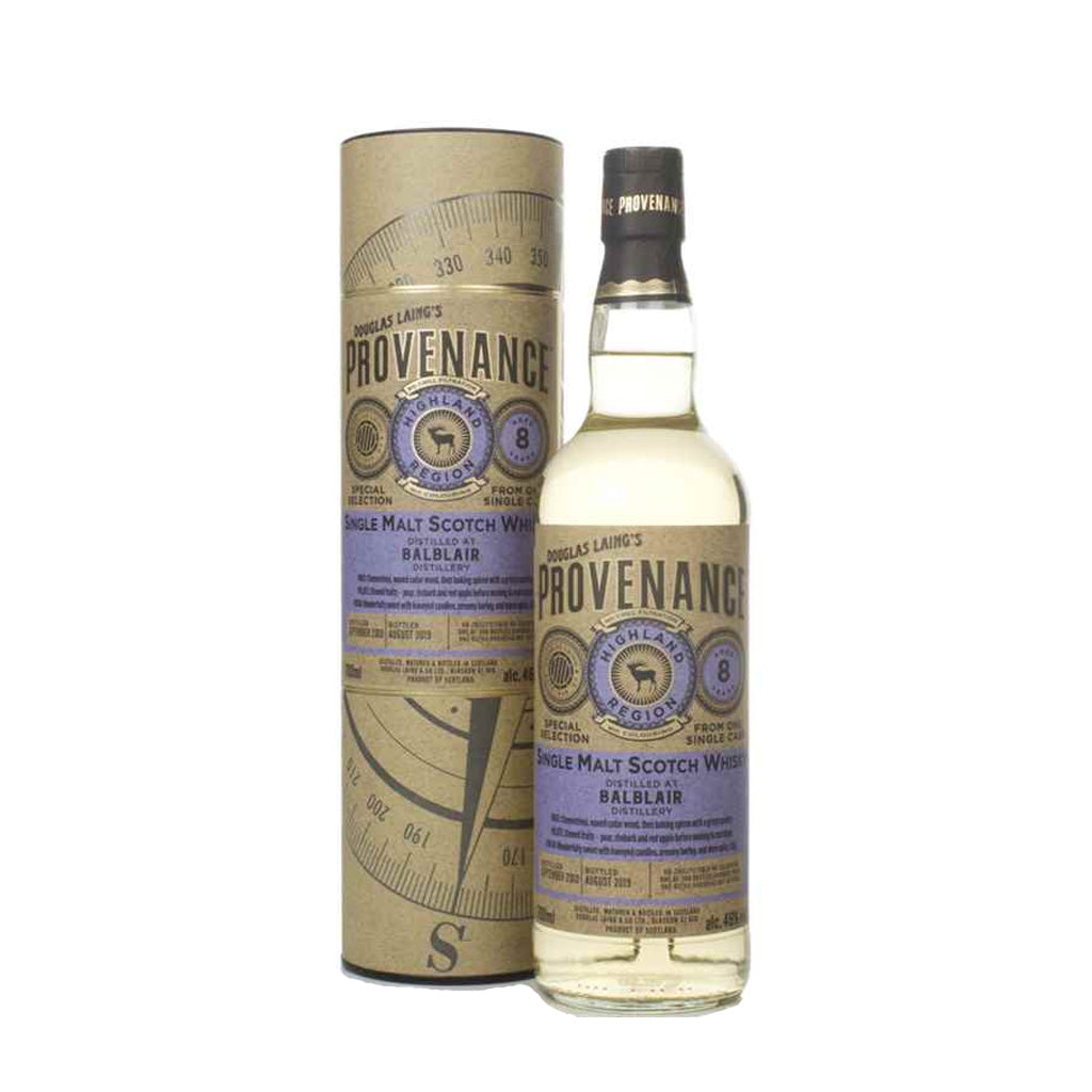 Provenance - Balbair 8 Year Old 70cl