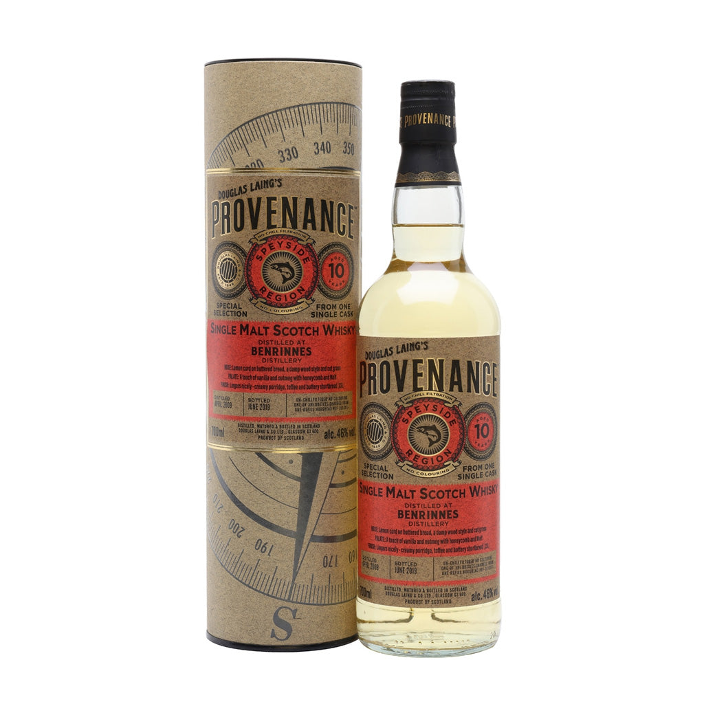 Provenance - Benrinnes 10 Year Old 70cl