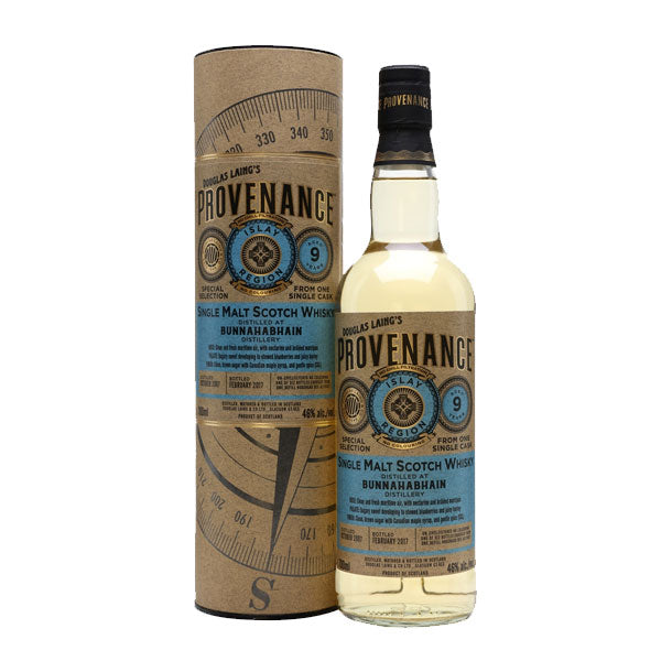 Provenance - Bunnahabhain 10 year old (Islay)