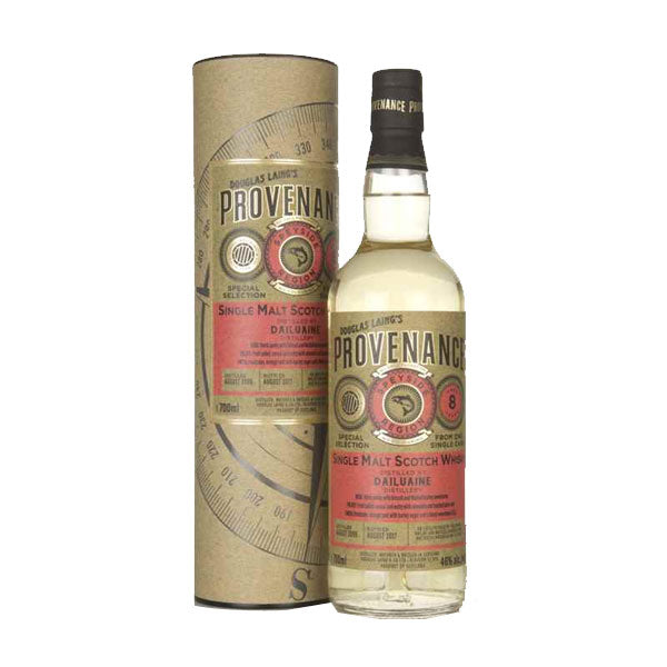 Provenance - Dailuane 8 year old (speyside) 70cl