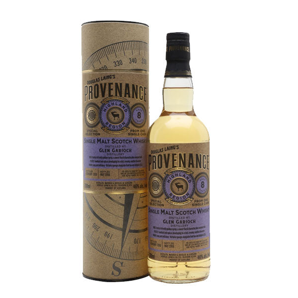 Provenance - Glen Garioch 8 year old  (Highland)
