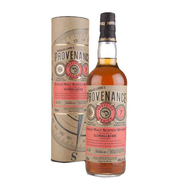 Provenance - Glenallachie 7 year old (speyside)