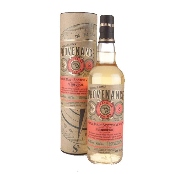 Provenance - Glenburgie 8 year old (speyside)
