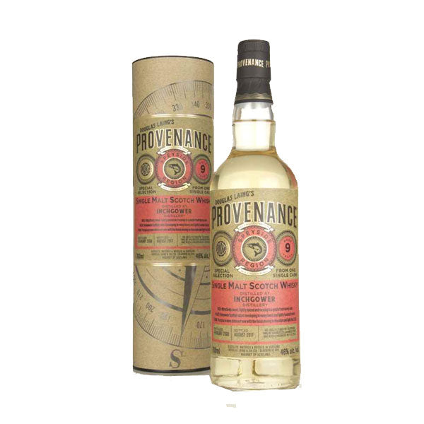 Provenance - Inchgower 9 year old (speyside)