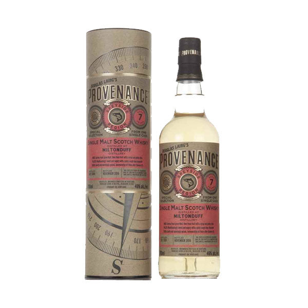 Provenance - Miltonduff 7 year old (speyside) 70cl