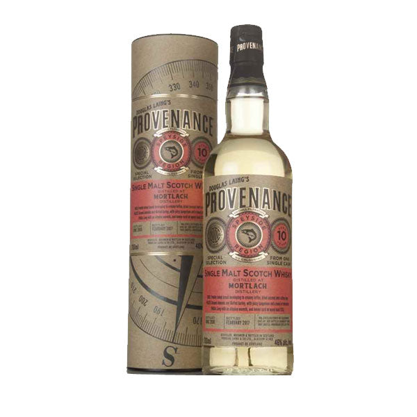 Provenance - Mortlach 10 year old (speyside)