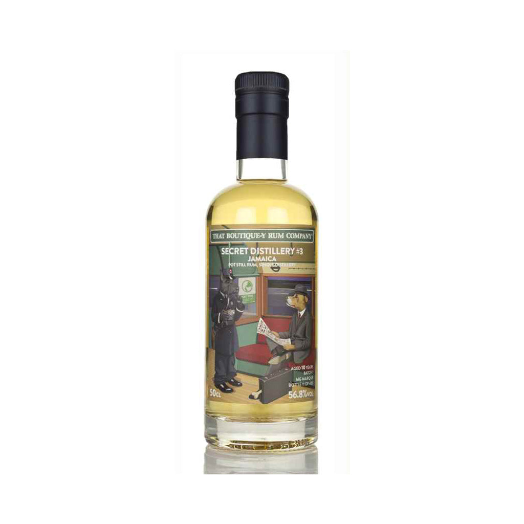 Secret Distillery #3 10 Year Old - That Boutique-y Rum Company 500ml