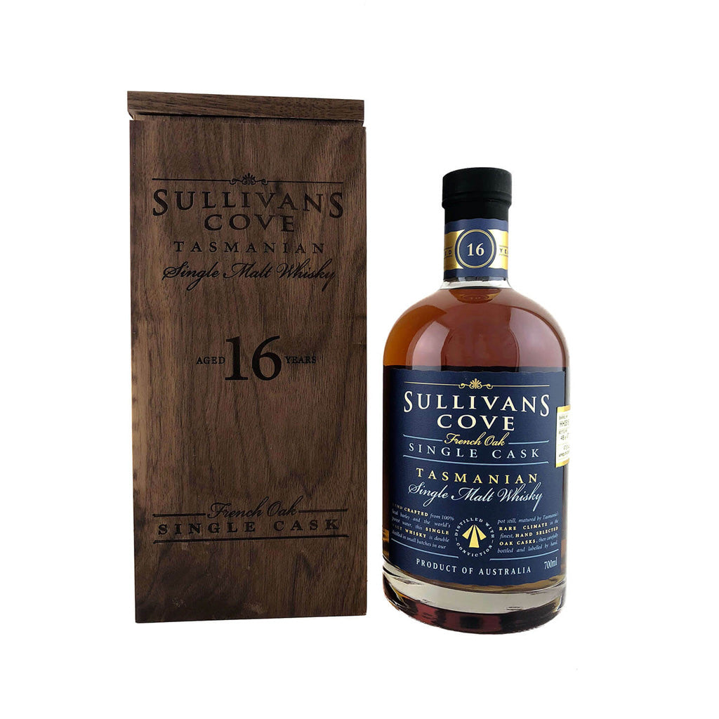 Sullivan's Cove 16 Year Old French Cask - Single Cask Tasmanian Whisky 70cl