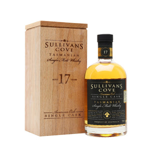 Sullivan's Cove 17 Year Old American Oak - Single Cask Tasmanian Whisky 70cl