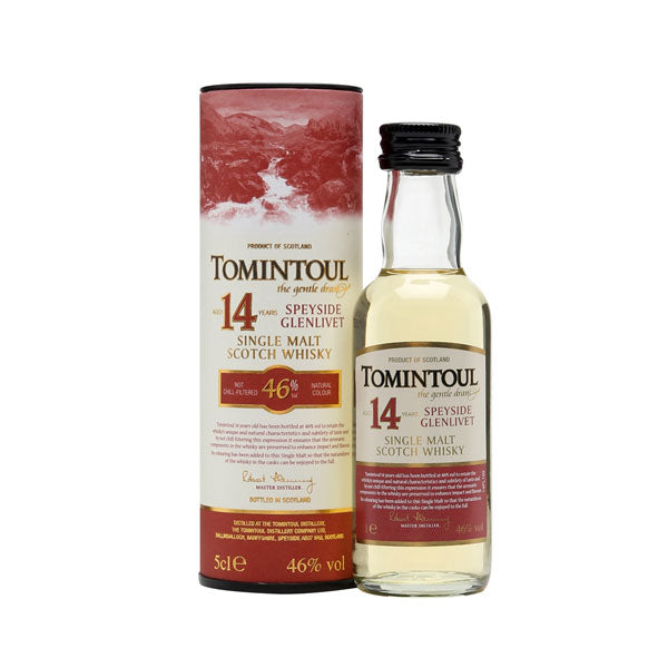 Tomintoul 14 Year Old Miniature