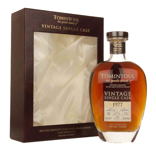 Tomintoul 1977 Vintage Single Sherry Cask