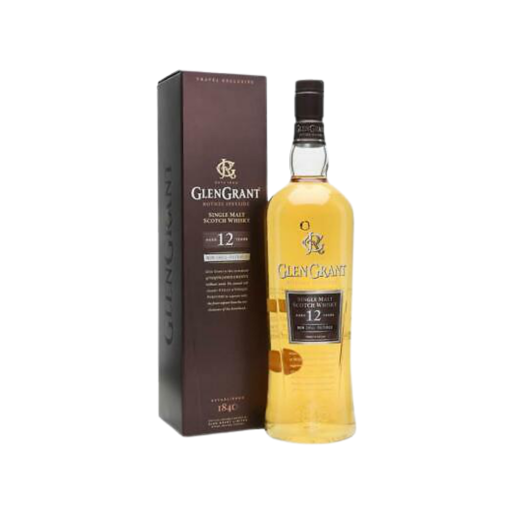 Glen Grant 12 Year Old Non Chill Filtered 1L