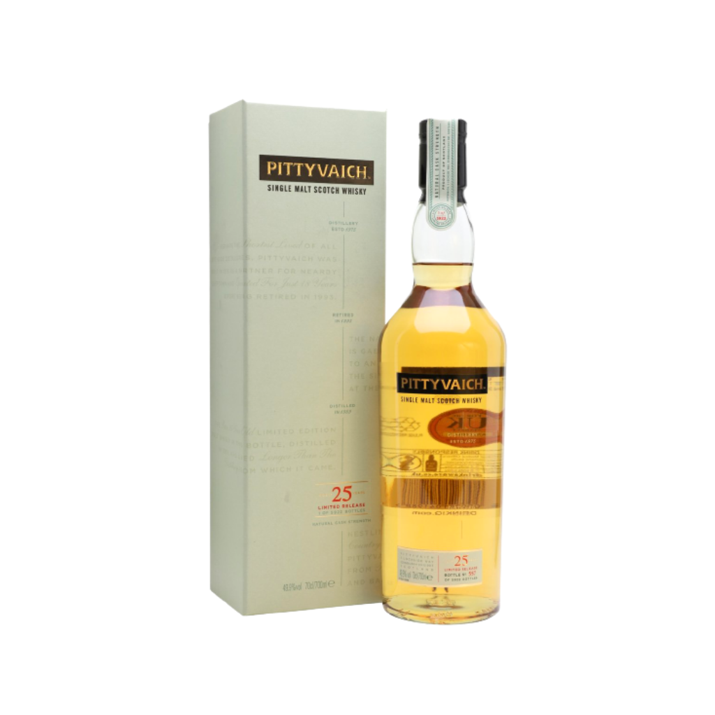 Pittyvaich 25 Year Old 1989 Special Release 750ml (Closed Distillery)