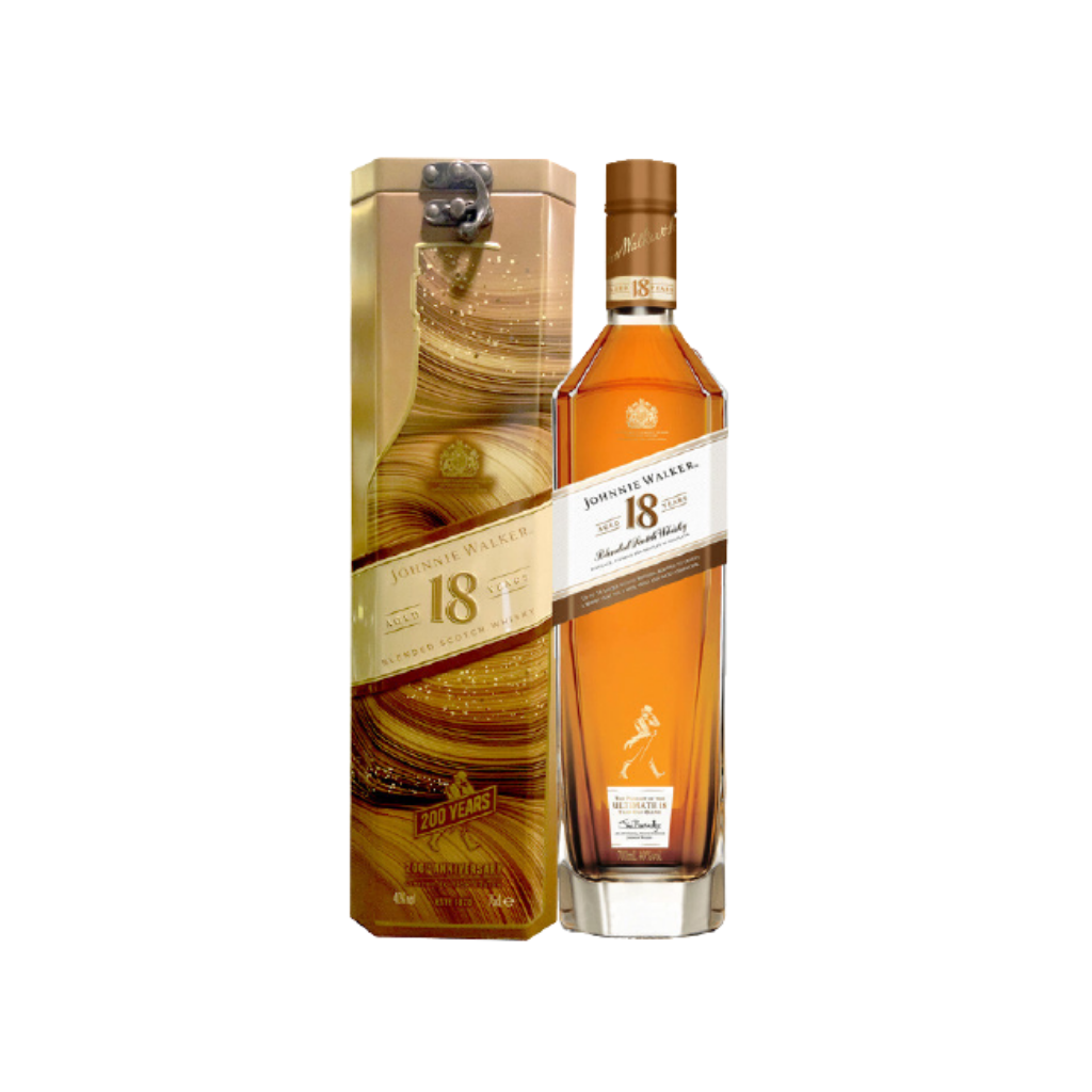 Johnnie Walker Ultimate 18 Year Old 750ml - Festive Gift Cannisters