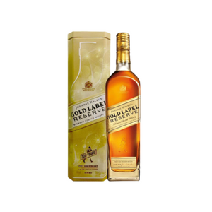 Johnnie Walker Gold Label 750ml - Festive Gift Cannisters