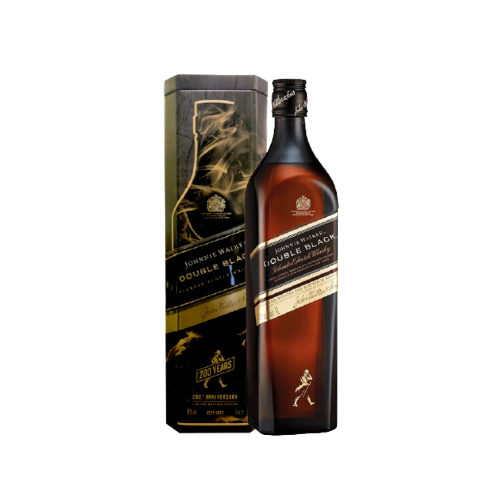 Johnnie Walker Double Black 1L - Festive Gift Cannisters