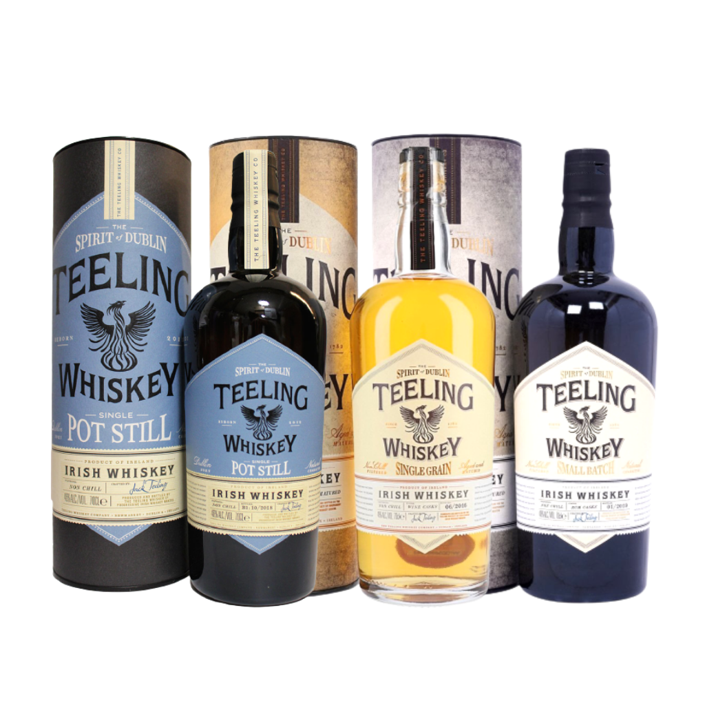 Teeling Trinity Bundle (Pot Still 70cl, Single Grain 70cl, Small Batch 70cl)