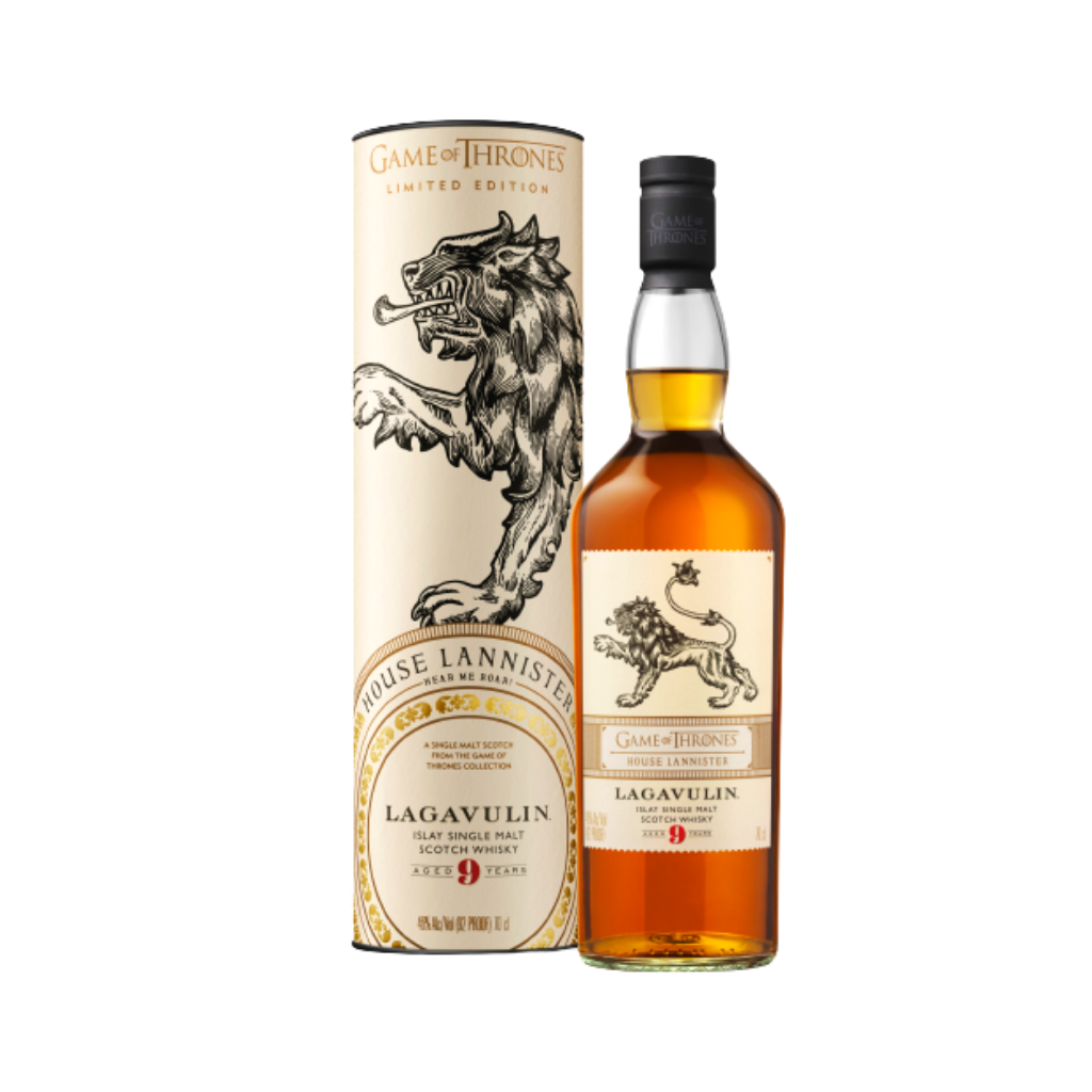 Game of Thrones House Lannister - Lagavulin 9 Year Old 70cl