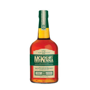Henry McKenna 10y Bottled in Bond Single Barrel Bourbon