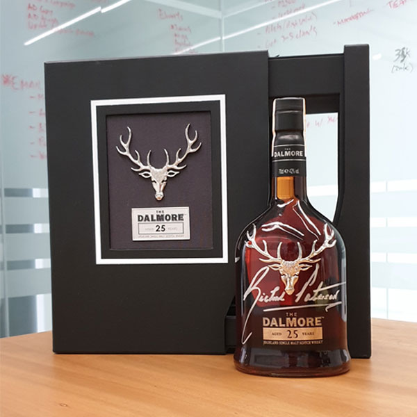 "Dalmore 25 Year Old w/ Master Distiller Richard ""The Nose"" Patterson Signature"