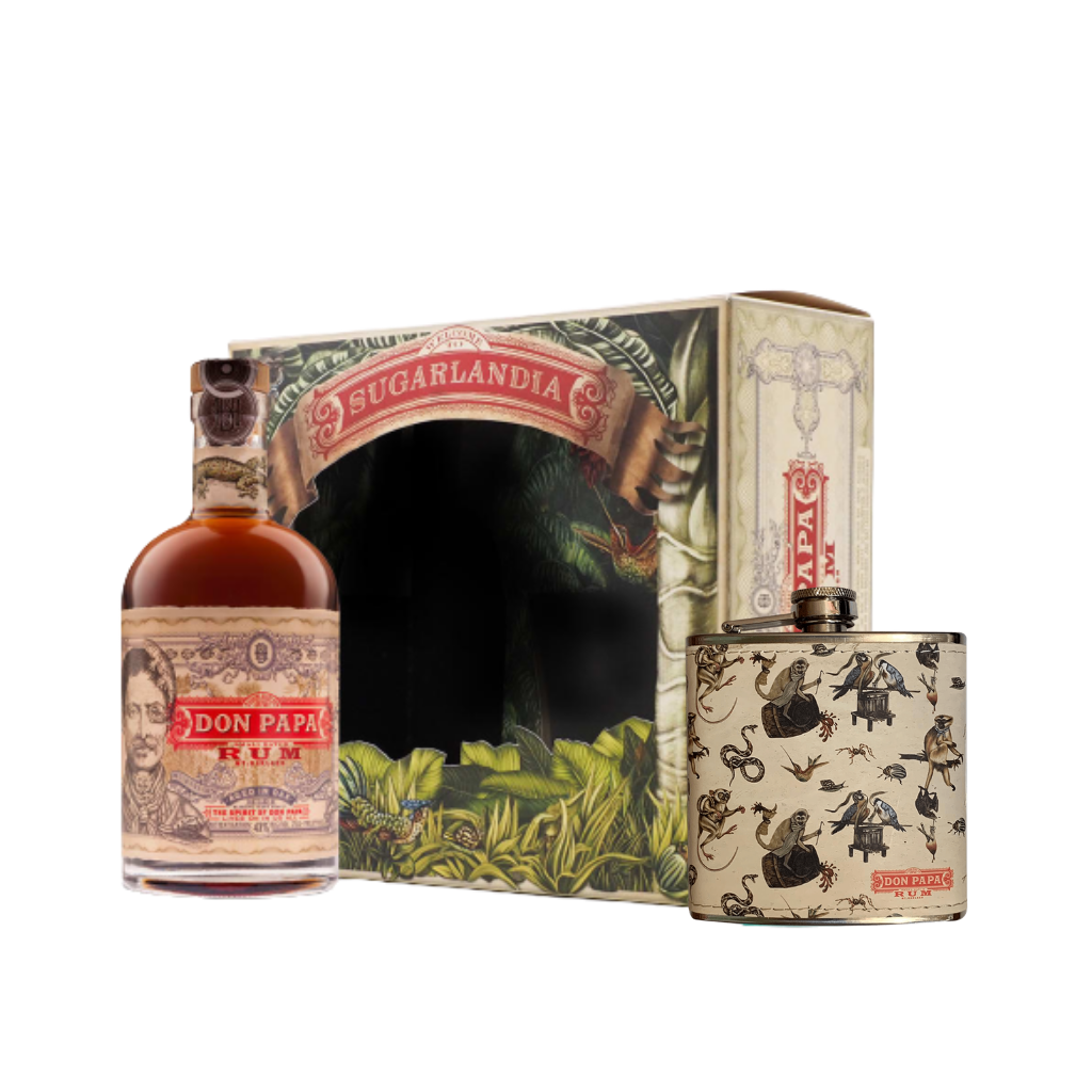 Don Papa 7 Year Old with Flask 70cl