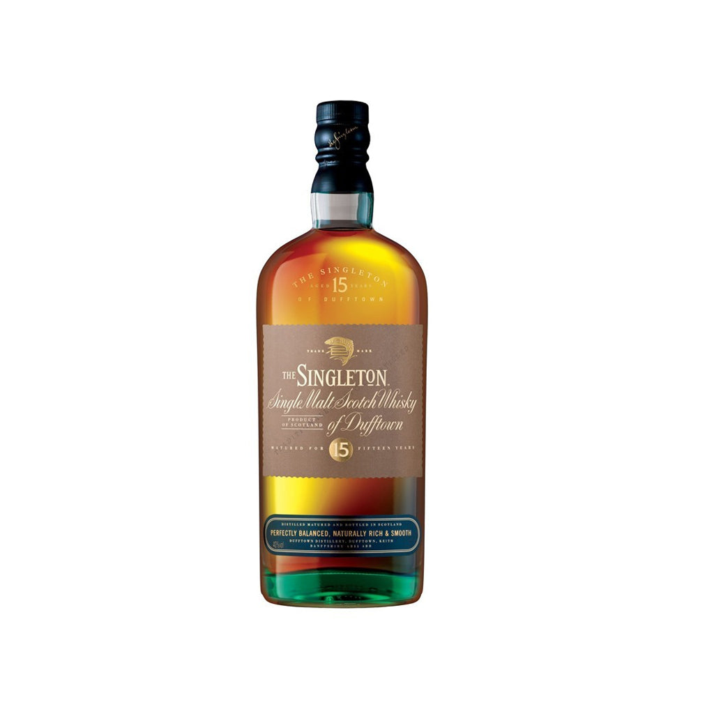 Singleton 15 Year Old Dufftown 70cl (no individual box)