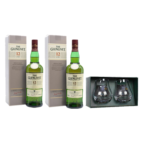 Glenlivet 12 Year Old Set