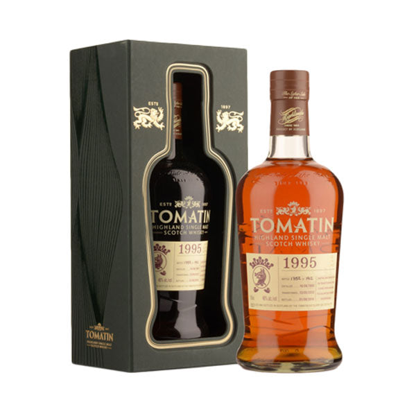 Tomatin 1995 Vintage 21 Year Old