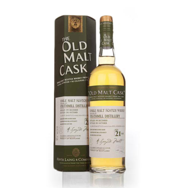 Hunter Laing Old Malt Cask Strathmill Distillery 21 Year Old