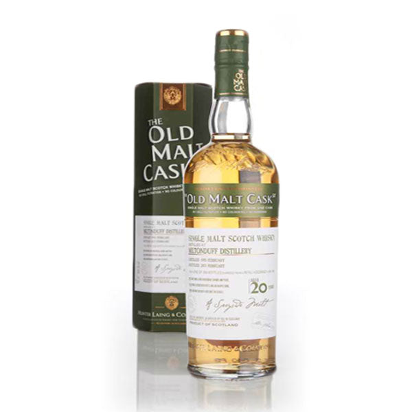 Hunter Laing Old Malt Cask Miltonduff Distillery 20 Year Old