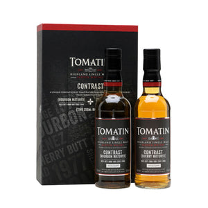 Tomatin Contrast - Bourbon & Sherry Cask 35cl x 2
