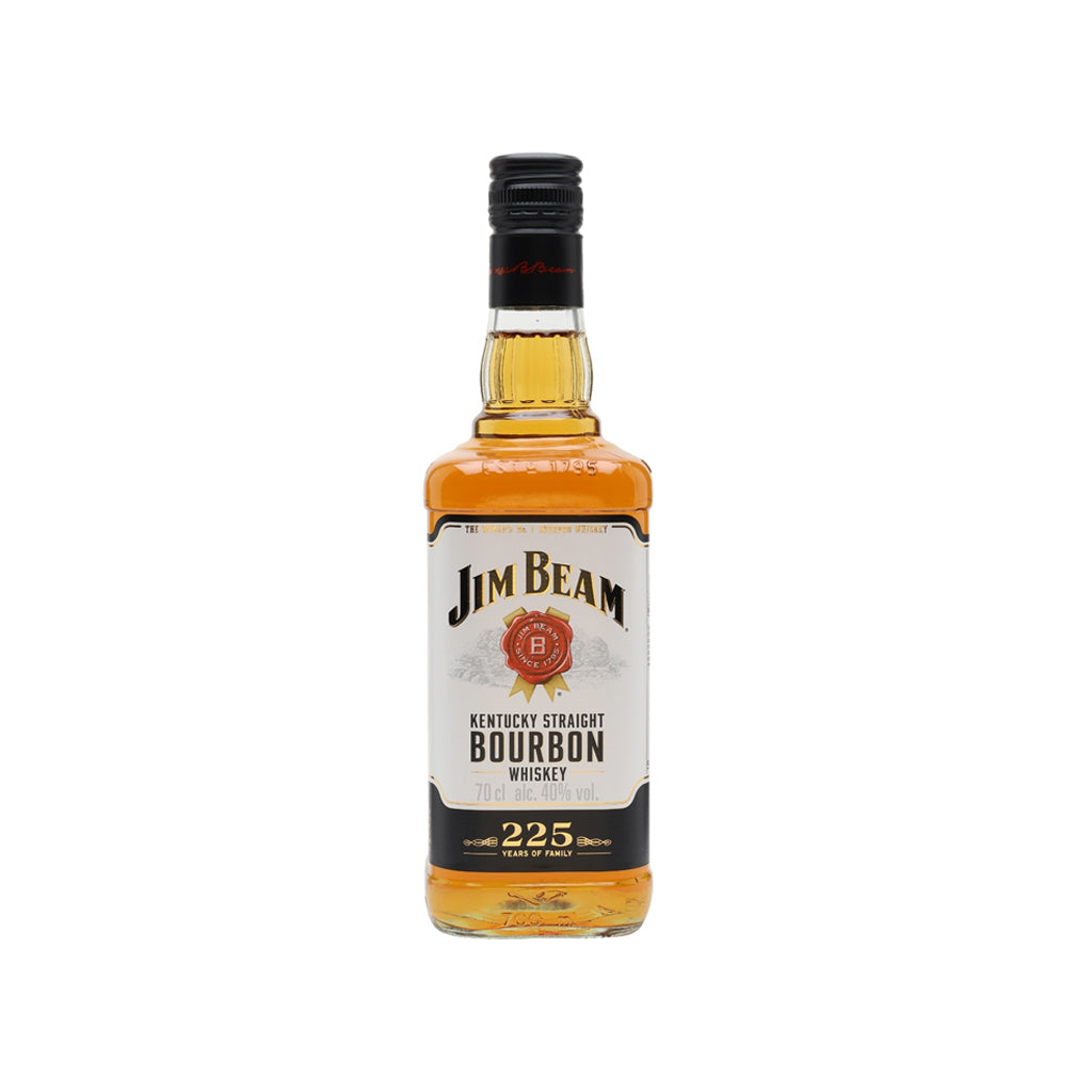Jim Beam bourbon 70cl (white)