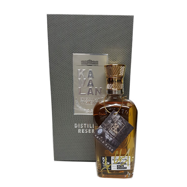 Kavalan Distillery Reserve-Rum Cask With Ian Chang Signature