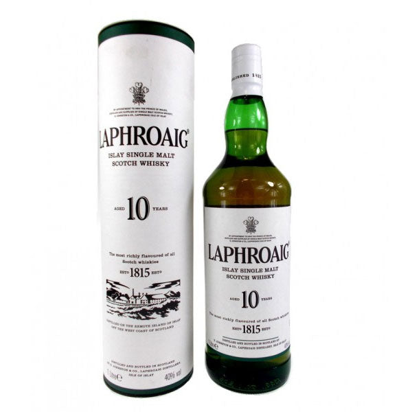 Laphroiag 10 Year Old (1 Litre)